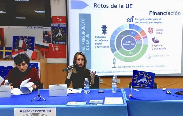 Diálogos ciudadanos sobre futuro Europa en Villarrobledo, Alcázar, Motilla, Marchamalo e Illescas