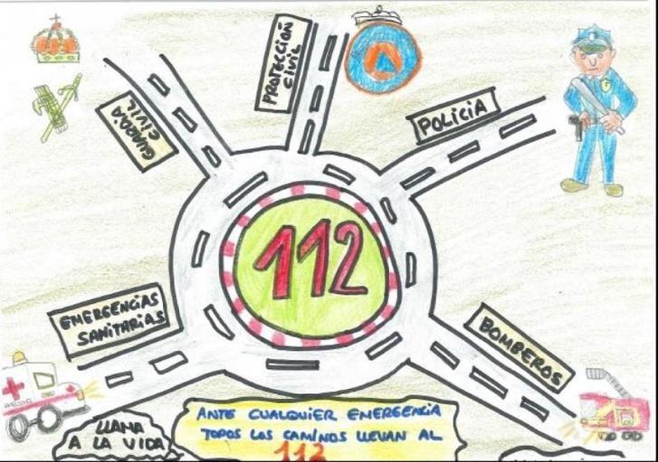 La Junta de Castilla-La Mancha convoca la IX edición del concurso de dibujo escolar del 112
