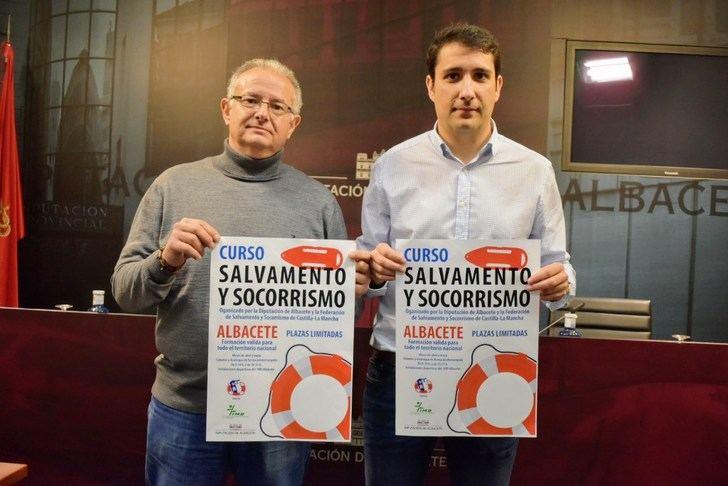 La Diputación de Albacete un curso de salvamento y socorrismo para favorecer la apertura de piscinas municipales