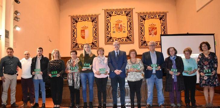 Homenaje de la Diputación de Albacete a 11 funcionarios que se jubilan este año