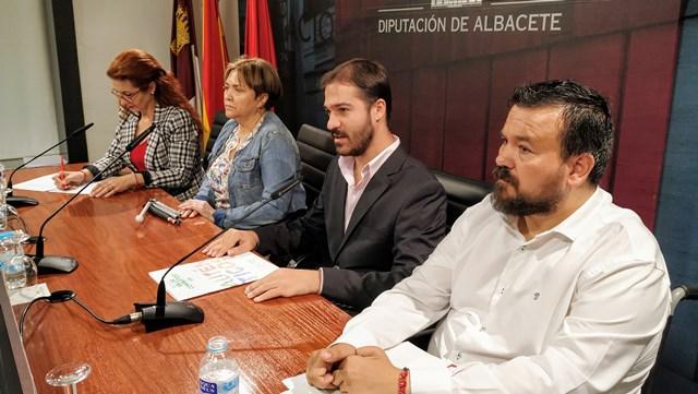 La ONCE elige la Diputación de Albacete para presentar su XXIX semana temática de sensibilización social