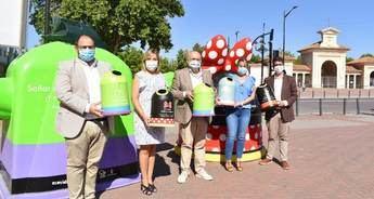 Los personales de Disney ayudarán al reciclaje del vidrio en las calles de Albacete