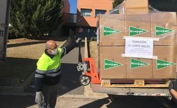 El Corte Inglés, Iniesta y Lactalis, entre las empresas y ciudadanos solidarios en Castilla-La Mancha