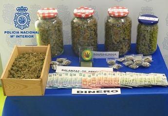 Desmantelado un punto de venta de drogas a menores en Villanueva de la Torre (Guadalajara)