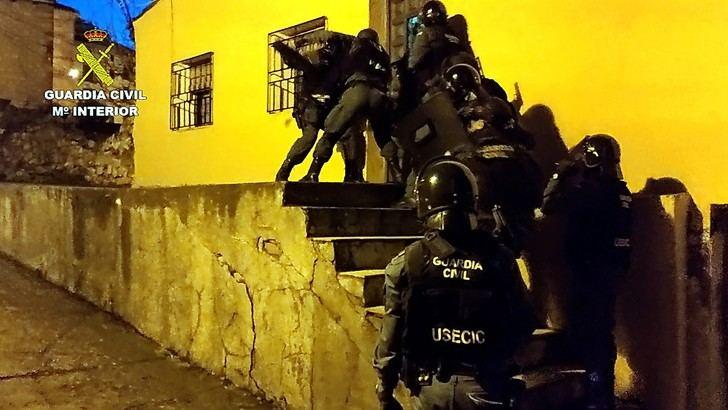 Desarticulada una organización criminal dedicada al tráfico de cocaína que operaba en Sigüenza y su comarca