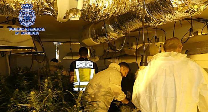Desmantelan laboratorio clandestino en Nambroca (Toledo) con 13,5 k de heroína