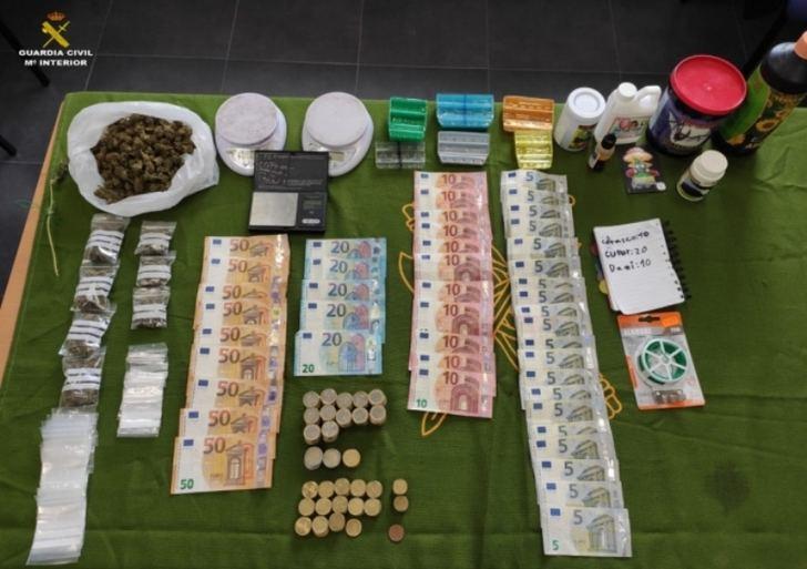 El coronavirus no paró ni a los vendedores y a los compradores de droga en Quintanar del Rey (Cuenca)