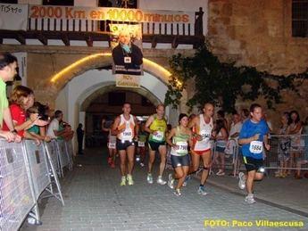 Alrededor de 1.000 atletas estarán en la línea de salida de la carrera nocturna de Tarazona