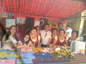 García-Page participa junto a los vecinos de El Bonillo en la Décima edición de la Feria de las Tradiciones