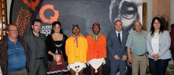 Presentación de la a carrera de montaña Quixote LEGEND con la presencia de los indios tarahumara que participarán en la prueba