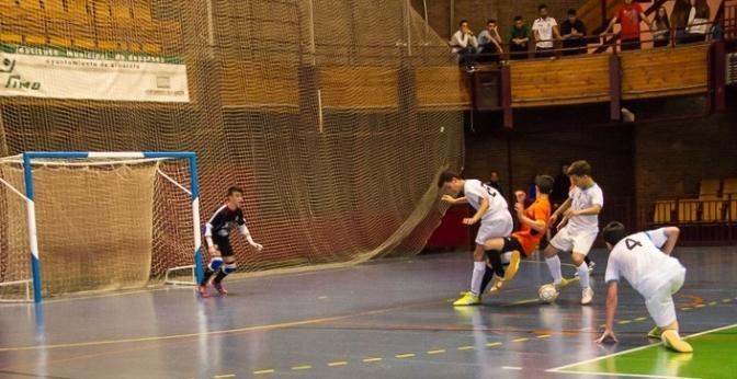 Amargo triunfo del cadete del Albacete FS (8-4) anate el Quijote, insuficiente para jugar el Nacional