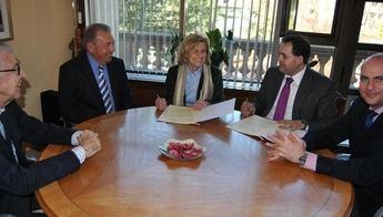 Convenio Ayuntamiento-Diputación para construir una nave para el Banco de Alimentos