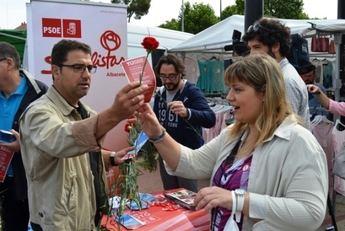 Notable diferencia en el número de avales entre Belinchón y Gutiérrez en las primarias del PSOE en Albacete