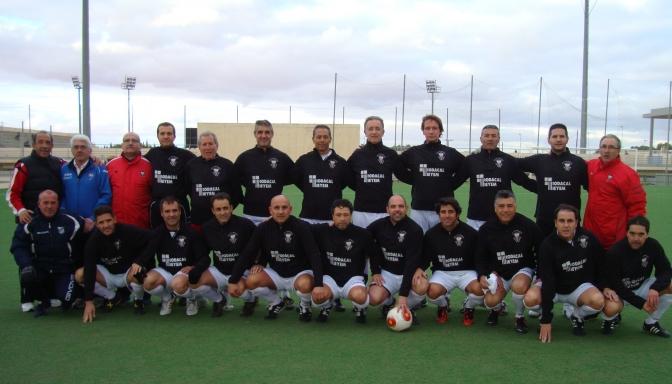 Los veteranos del Albacete se impusieron a La Solana (4-3) después de ir perdiendo por 0-3