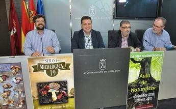 Albacete celebrará en noviembre su XIX Semana Micológica y el VI Ciclo de Conferencias del Aula de Naturaleza