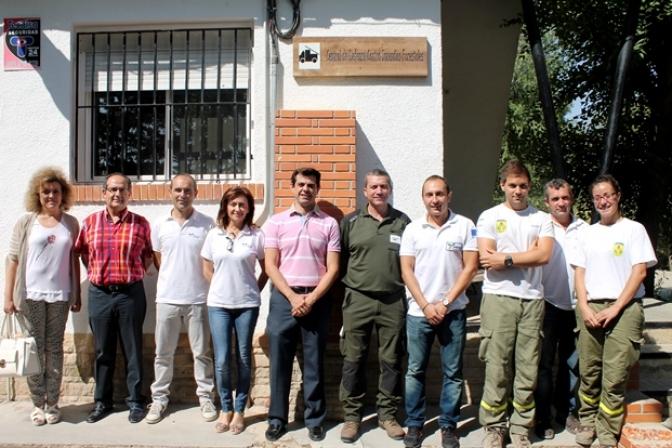 El dispositivo contra incendios previsto para la provincia de Albacete está formado este año por 492 personas, 44 medios  terrestres y seis medios aéreos