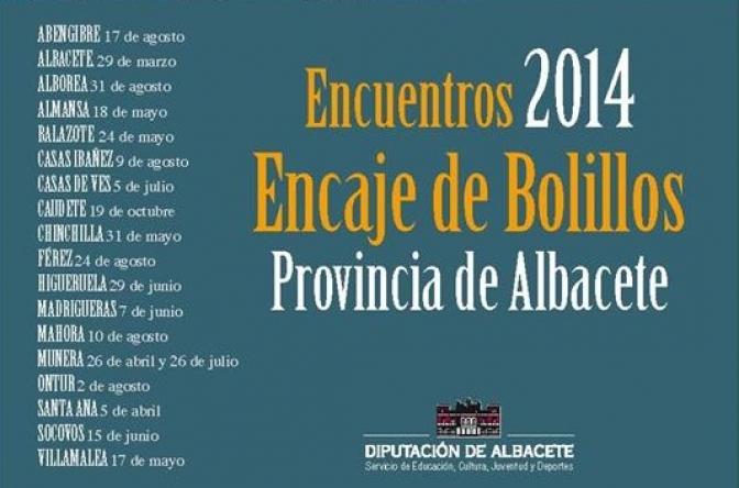 18 encuentros de encaje de bolillos en la provincia de Albacete durante el 2014