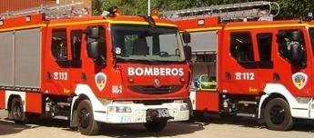 Bomberos de Albacete realizaron 1.647 actuaciones de extinción de incendios y salvamento durante 2014