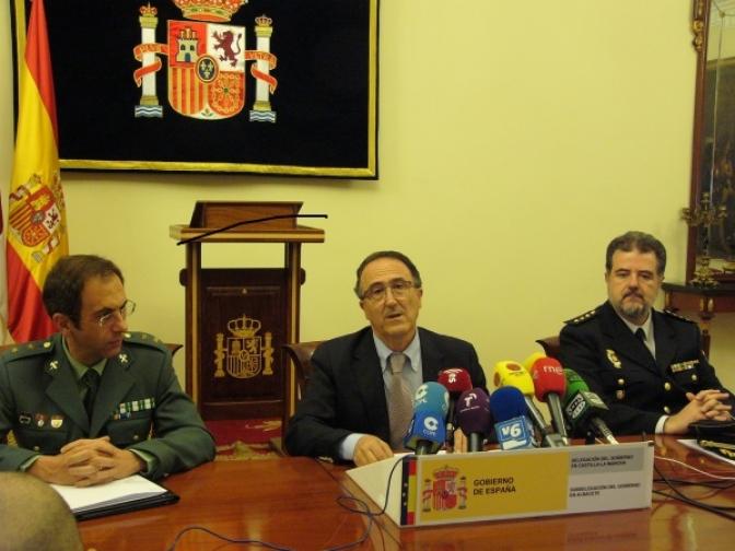 El subdelegado del Gobierno en Albacete presenta los Planes de Seguridad de las Fuerzas y Cuerpos de Seguridad del Estado