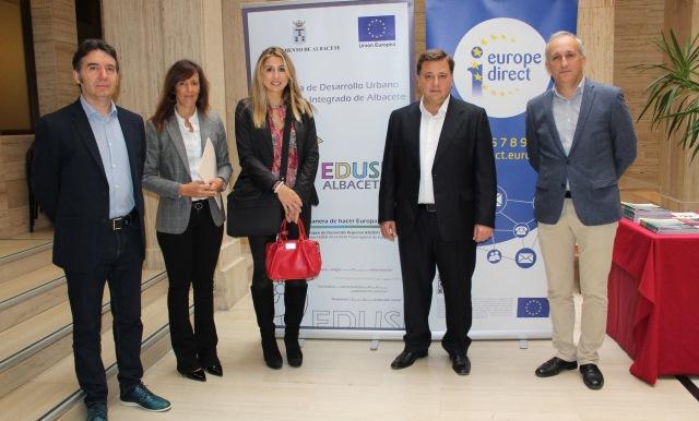 El Ayuntamiento de Albacete, sede de unas jornadas sobre los recursos financieros que ofrece Europa