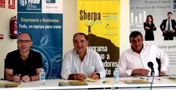 El alcalde de Villarrobledo anima a participar en el último tramo del Proyecto Sherpa para emprendedores