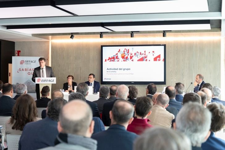 Encuentro de Eiffage en la sede que tiene en Albacete