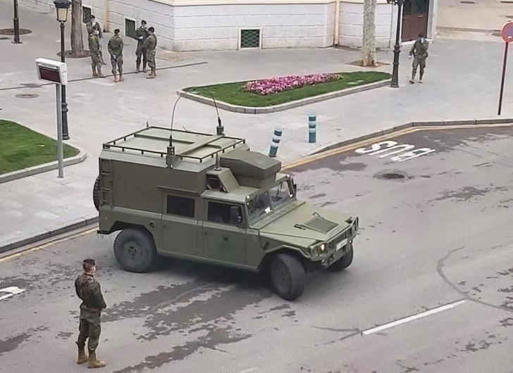 Paracaidistas de Murcia se despliegan en Albacete para colaborar con la policía
