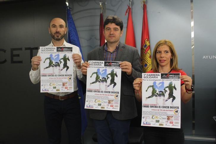 El domingo se celebra la I Carrera solidaria por la investigación del cáncer infantil a favor de 'El Reto de Pablo'
