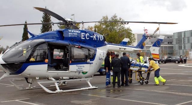 Un herido grave y dos leves en un accidente por choque de dos coches, en Alcaraz (Albacete)