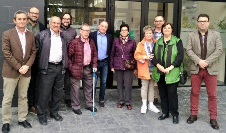 Emilio Sáez (PSOE) conoce las necesidades de diferentes asociaciones sociosanitarias de Albacete