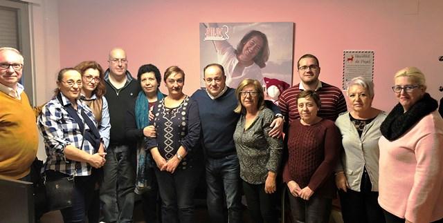 Emilio Sáez (PSOE) continúa reuniéndose con diferentes colectivos de Albacete, como la asociación AMAC