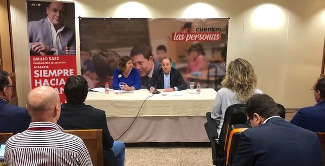 Emilio Sáez (PSOE) avanza su propuesta sobre políticas de empleo y promoción para Albacete