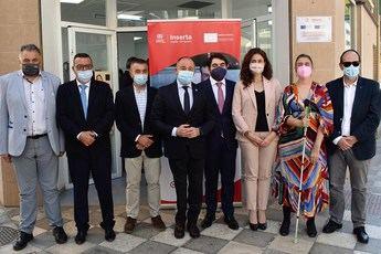 """La oficina Inserta Empleo en Albacete, de la Fundación ONCE, """"un paso más hacia la igualdad real"""""""