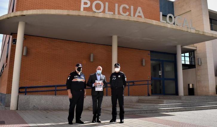 El 85% de los servicios de la Agrupación de Protección Civil de Albacete en 2020 tuvieron relación con el coronavirus
