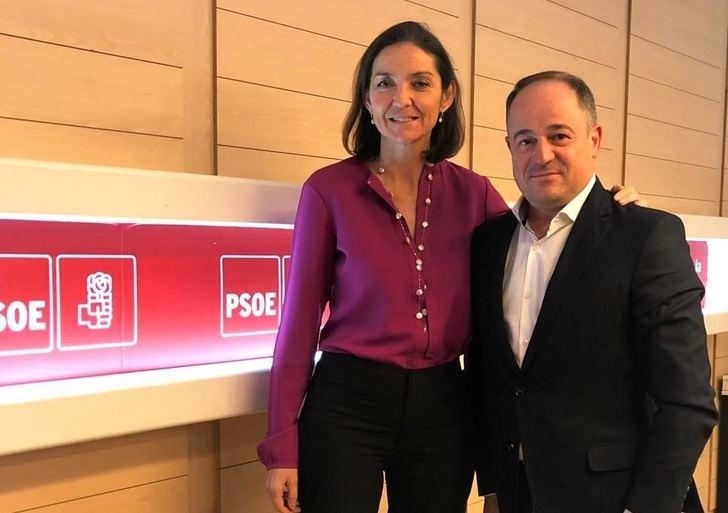 Emilio Sáez (PSOE) solicita a la ministra Maroto la implicación del gobierno de España para dinamizar y promocionar Albacete