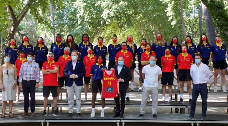 Albacete da la bienvenida a Selección de Baloncesto U19 Femenina, que se prepara para el Mundial de Hungría