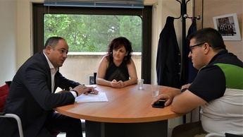 Ayuntamiento y UGT estudian como convertir a Albacete en un referente logístico e impulsar el empleo