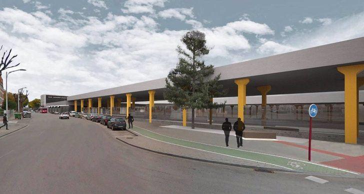 Emisalba adjudica la reforma del edificio y sus accesos y del patio de dársenas de la estación de autobuses de Albacete