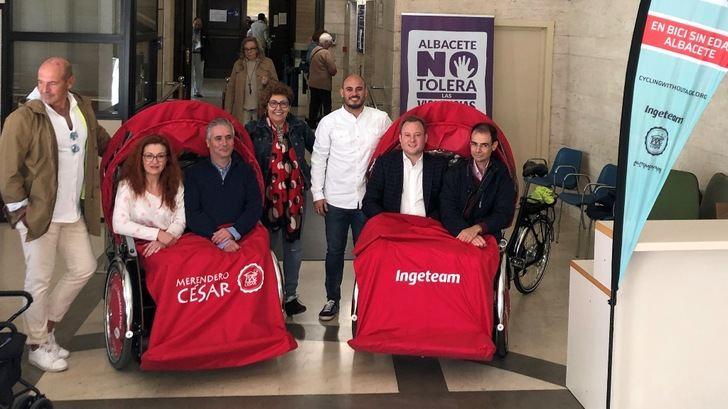 'En Bici Sin Edad' de Albacete contará con cuatro triciclos adaptados para pasear a mayores, dependientes o con discapacidad
