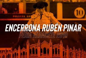 El día 21 de agosto será presentada la corrida, en solitario, de Rubén Pinar en la próxima Feria de Albacete
