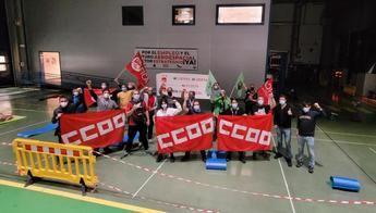 Los comités de empresa de Airbus en Illescas y Albacete salen de su encierro solidario con Puerto Real, amenazado por cierre