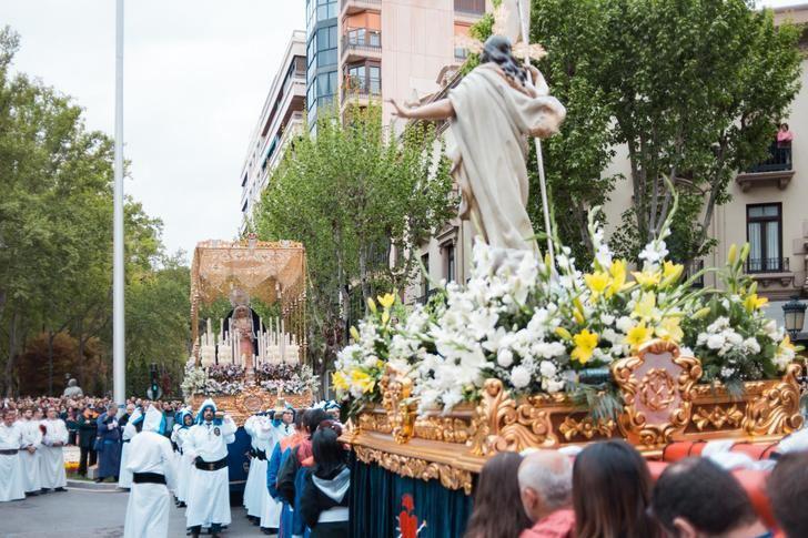 La Procesión del Encuentro puso fin a la Semana Santa de Albacete