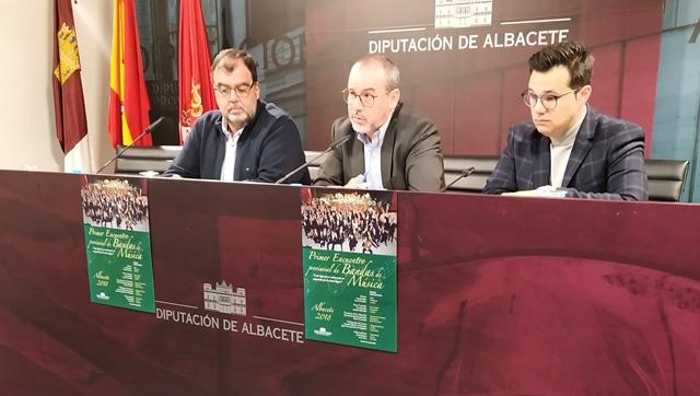 Todo preparado para el 'I Encuentro Provincial de Bandas de Música' que organiza la Diputación de Albacete