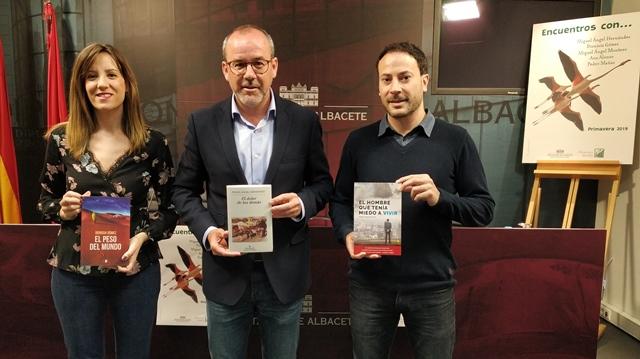 El programa de la Diputación de fomento de la lectura 'Encuentros con…' llegará en primavera a 42 municipios de Albacete