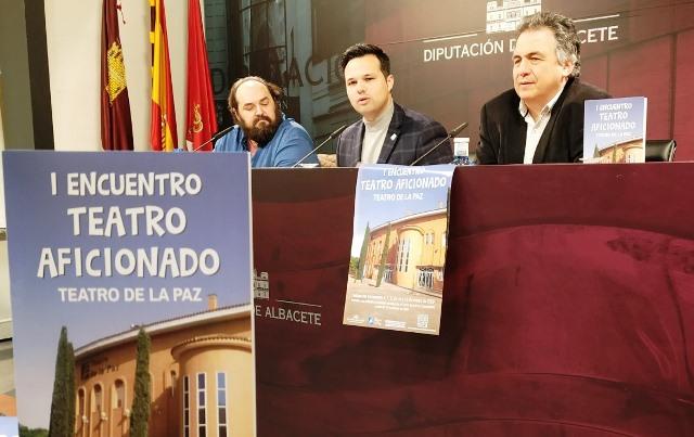 Seis grupos de la provincia participarán en el 'I Encuentro de Teatro Aficionado Diputación de Albacete'