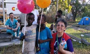 Adoración, enfermera ciudadrealeña, forma parte del equipo de la Agencia Española de Cooperación Internacional a Mozambique
