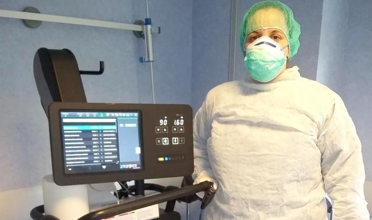 Más equipos portátiles de radiología en los hospitales de Castilla-La Mancha para valorar a enfermos de coronavirus