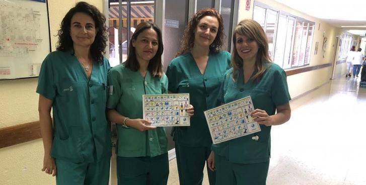El Hospital de Toledo utiliza pictogramas para pacientes con dificultad de comunicación