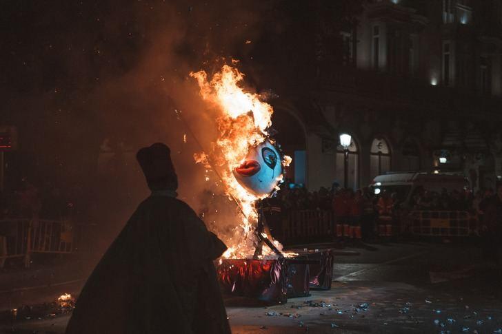 El Carnaval 2020 de Albacete se despidió con el tradicional 'Entierro de la sardina'