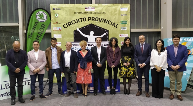 Entregados los premios y galardones del Circuito de Carreras Populares de la Diputación de Albacete